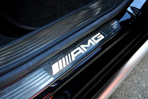 純正品 W222 Sクラス AMG エントランスモールイルミ 4Pcs