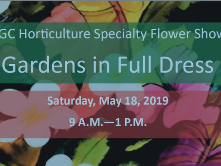 Gardens in Full Dress - 2019 NGC Horticultural Specialty Flower Show