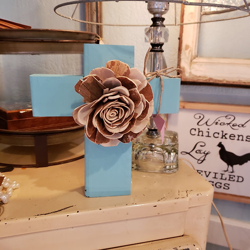 Cute hand crafted wood crosses