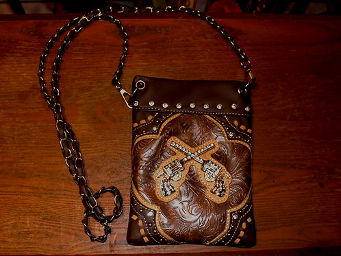Leather Cell Phone Purse