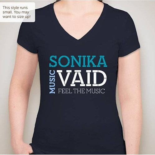 Vintage Wash V-Neck T-shirt
