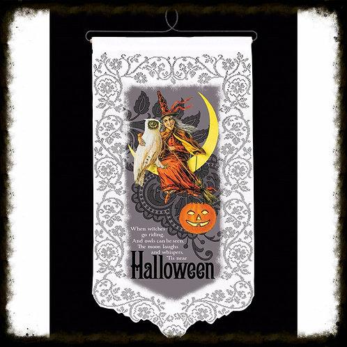 Tis' Halloween Wall Hanging