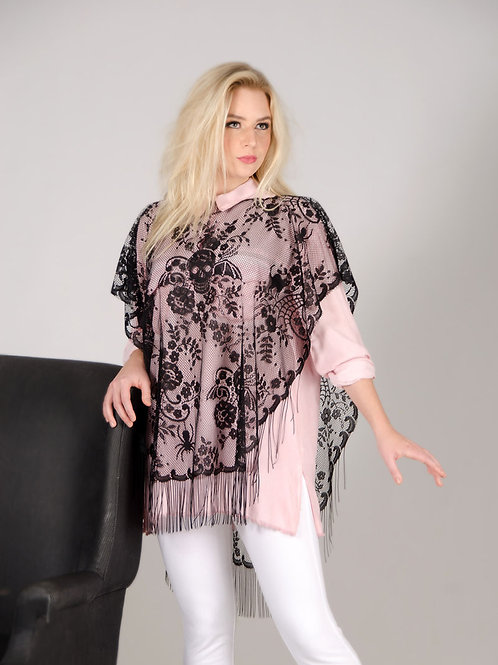 Victorian Lace Poncho