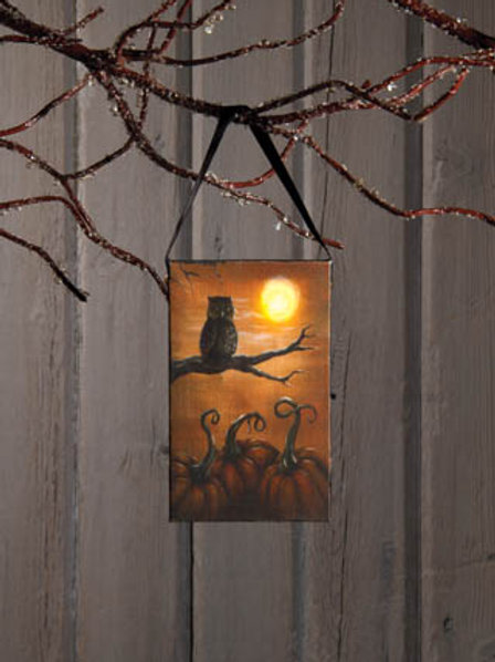 Lighted Owl Ornament