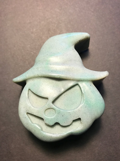 Pumpkin with Witch's hat soap