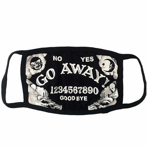 Ouija Face Mask