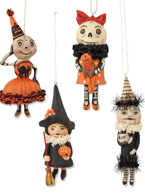 Happy Halloween ornaments
