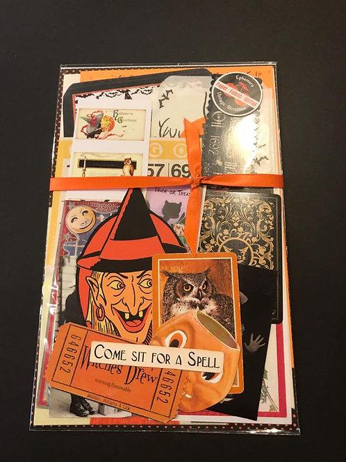 Halloween Ephemera Kit