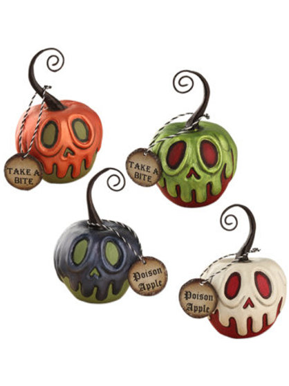 Poison Apple Ornaments