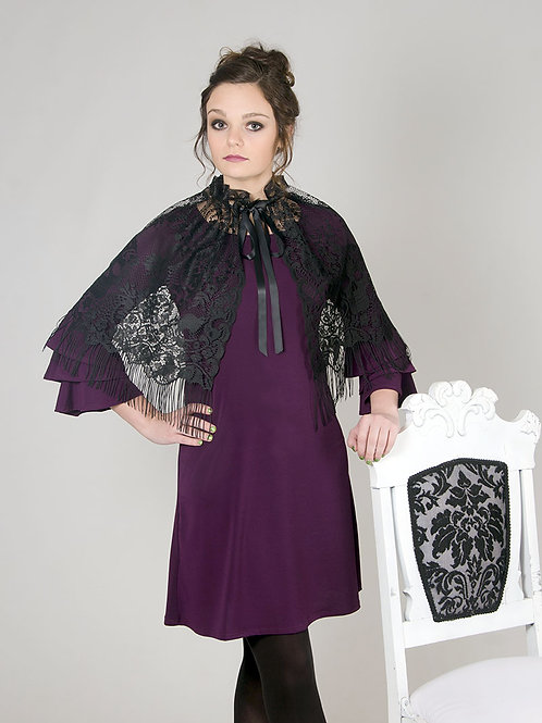 Victorian Lace Capelet/Overskirt
