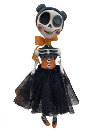 Vivian Skullgrave Shelf Sitter Doll