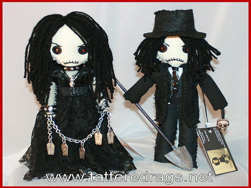Female Undertaker Doll
