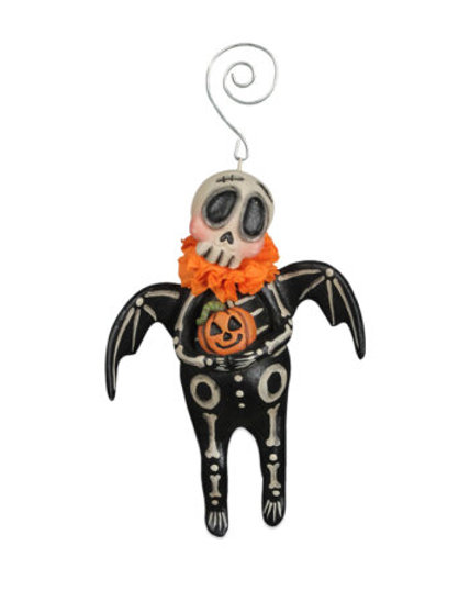Skelly Bat Ornament