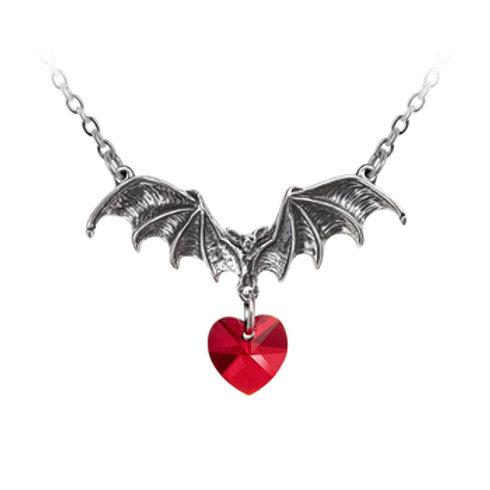 Vampire Love Heart Pendant