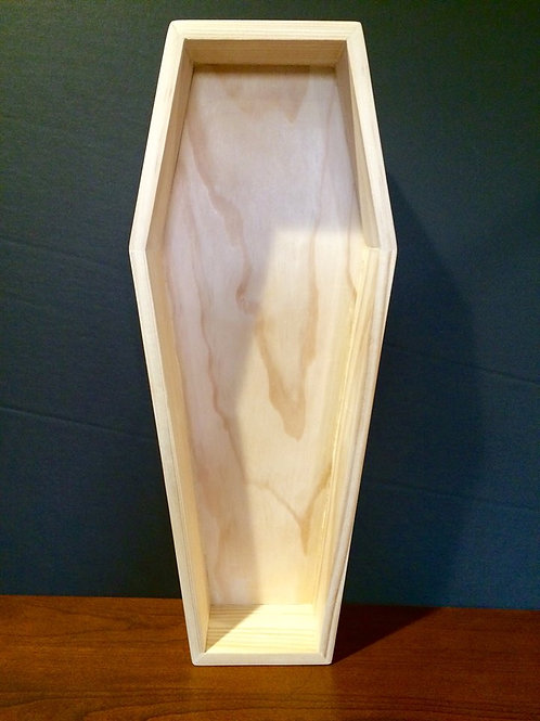 "15"" Slab Side Coffin/Plain"