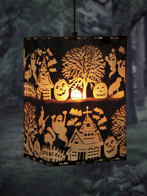 Spooky Hollow Square Pendant Light