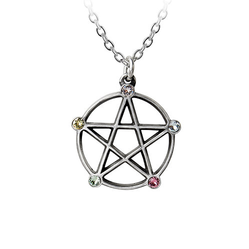 Wiccan Element Necklace