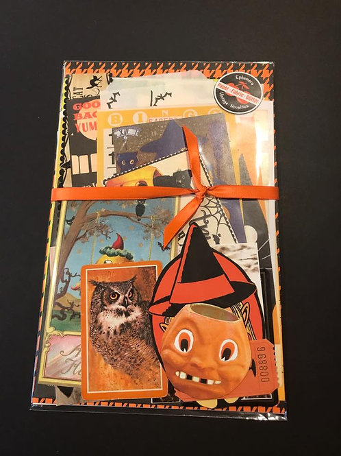 Halloween Ephemera Kit