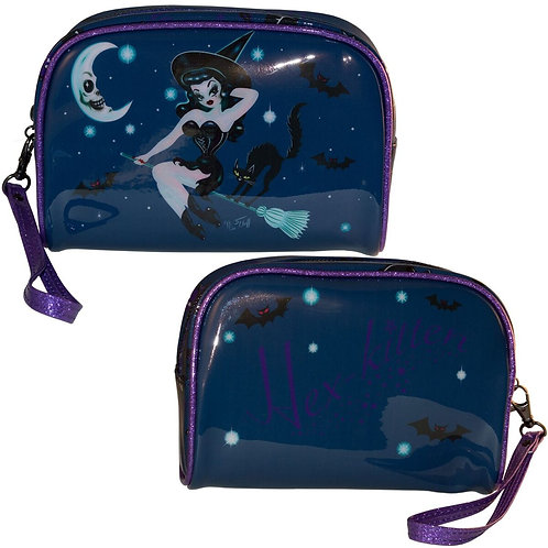 Hex Kitten Make-up Bag