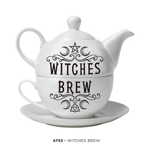 Witches Brew Tea Pot