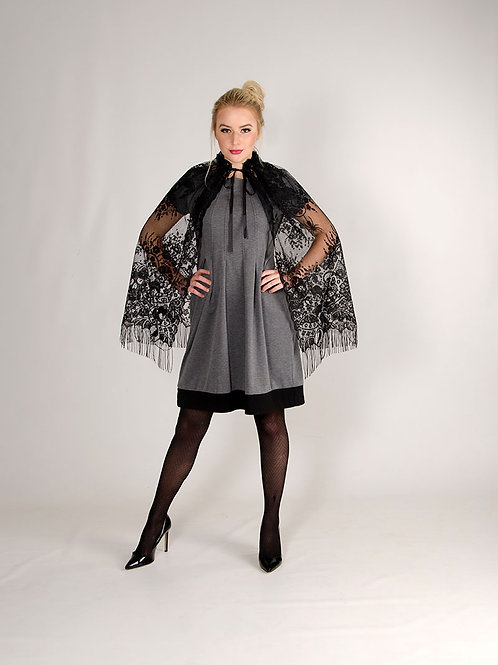Victorian Lace Cape/Overskirt