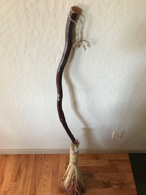 Broom Corn Broom