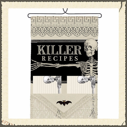 Killer Recipes Holder