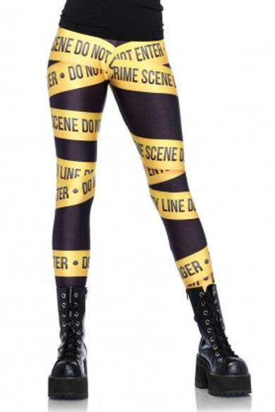 Crime Tape Leggings