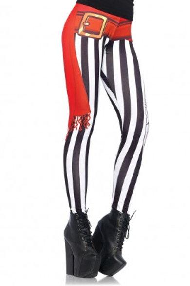 Swashbuckler stripy print legging