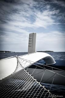 Photographie Nautisme - Trimaran Maserati Multi 70