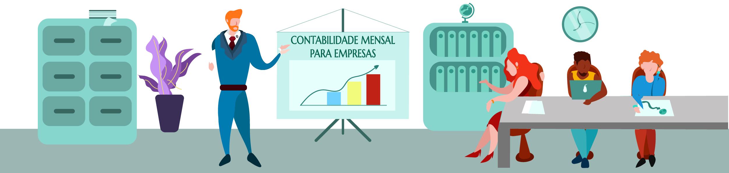 CONTABILIDADE MENSAL DE EMPRESAS