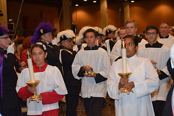 Altar Servers in Procession