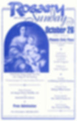 Poster from 2003 celebration