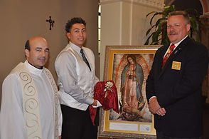 Fr. Crino, Tucson Squire, SD Pat Schuller