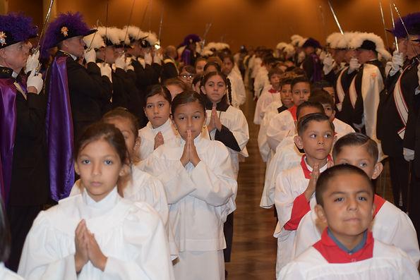 Altar Server Bishop's Procession