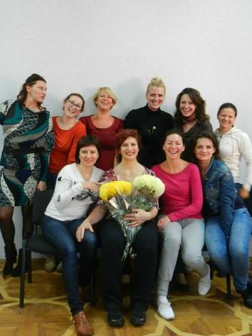Teaching in Kiev, Ukraine
