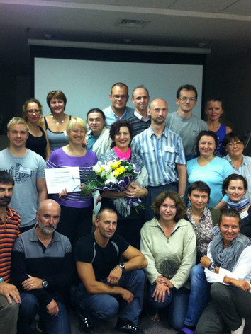 Teaching Pelvis Class in St. Petersburg, Russia
