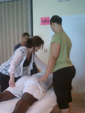 Teaching at Educating Hands in Miami