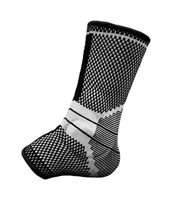 Ankle Compression Sleeve with Gel Pads