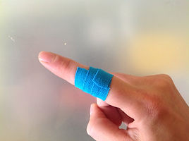 Taping Finger Joint Injuries