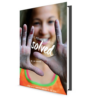 SIGNED Climbing Injuries Solved Paperback