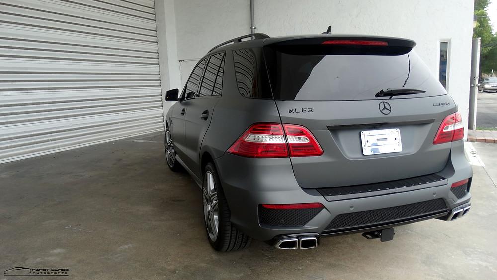 APA wrap Mercedes Benz ML63 Miami
