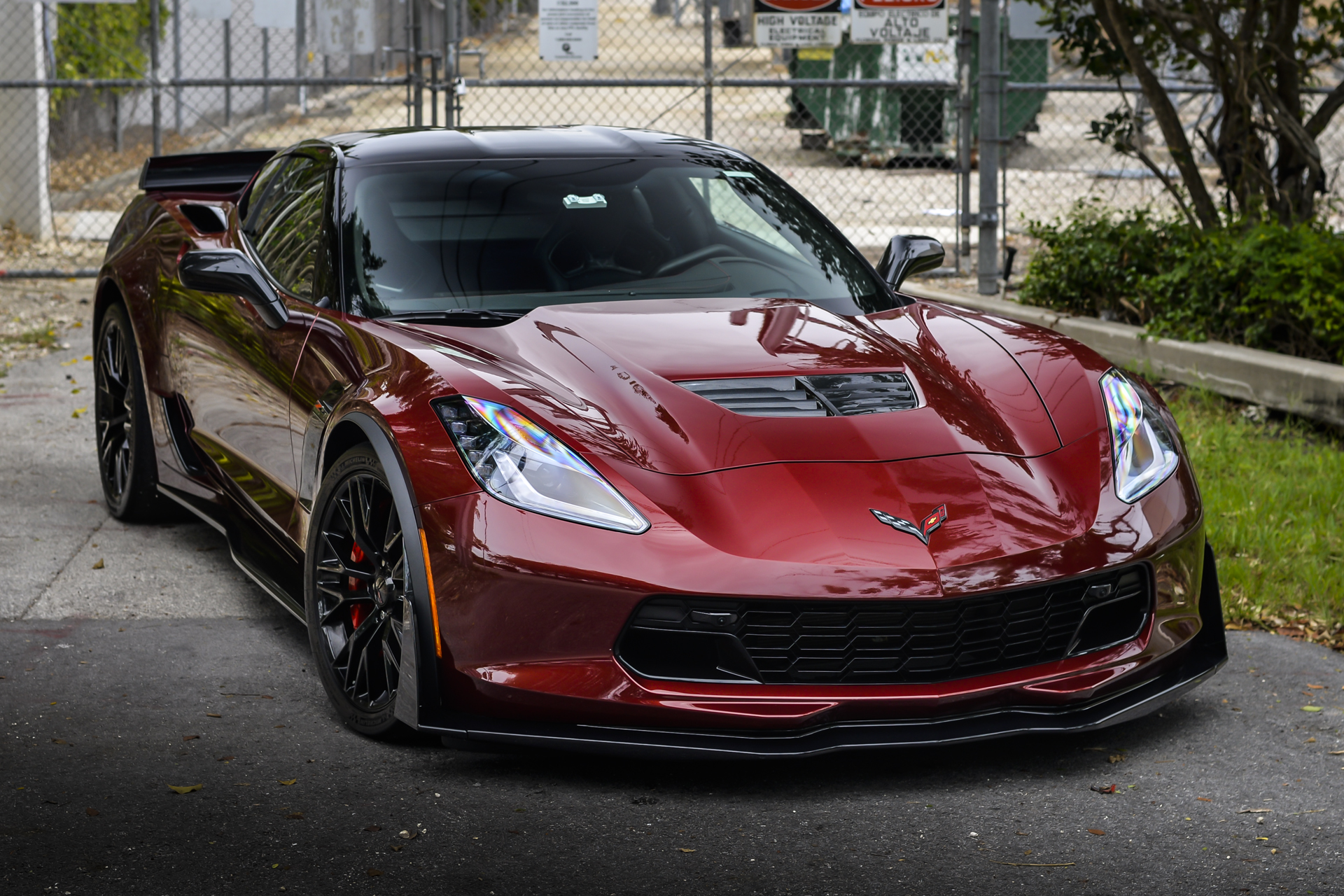 Corvette Z06 Armored With Paint Protection Film Ready For
