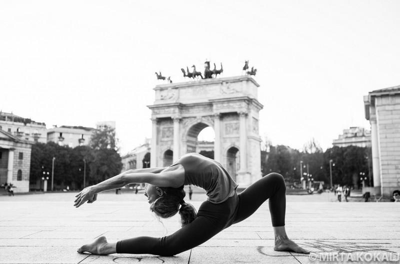 Lezione di Yoga avanzata, 16 luglio
