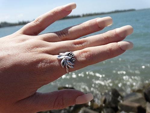 Buddhist Lotus Ring