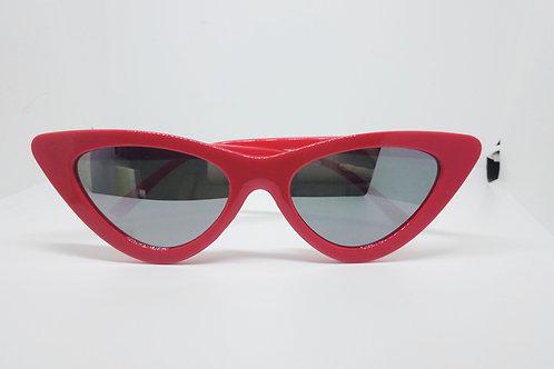 Stunner Red Cat Eye Sunglasses