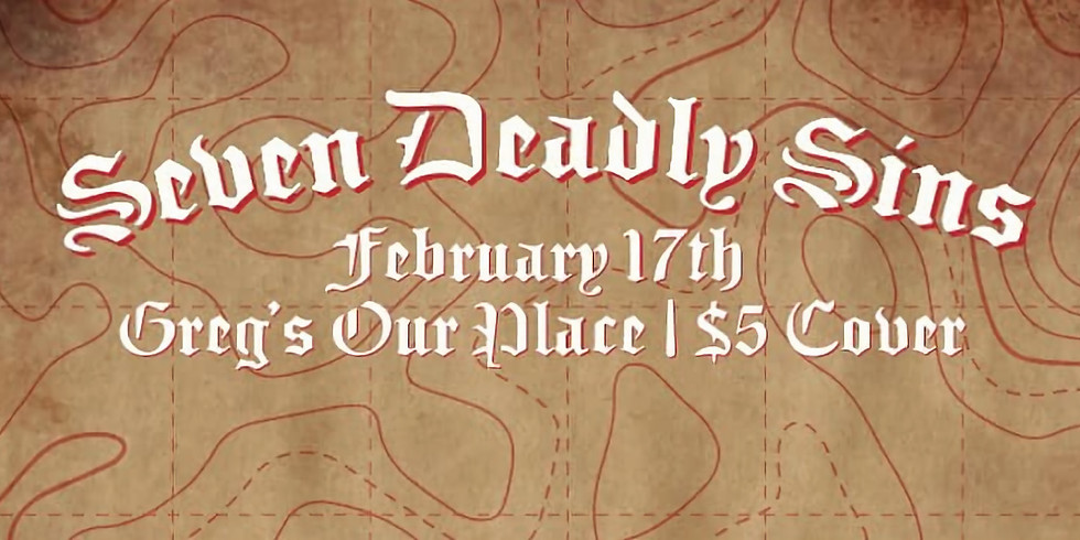 Seven Deadly Sins Drag Show