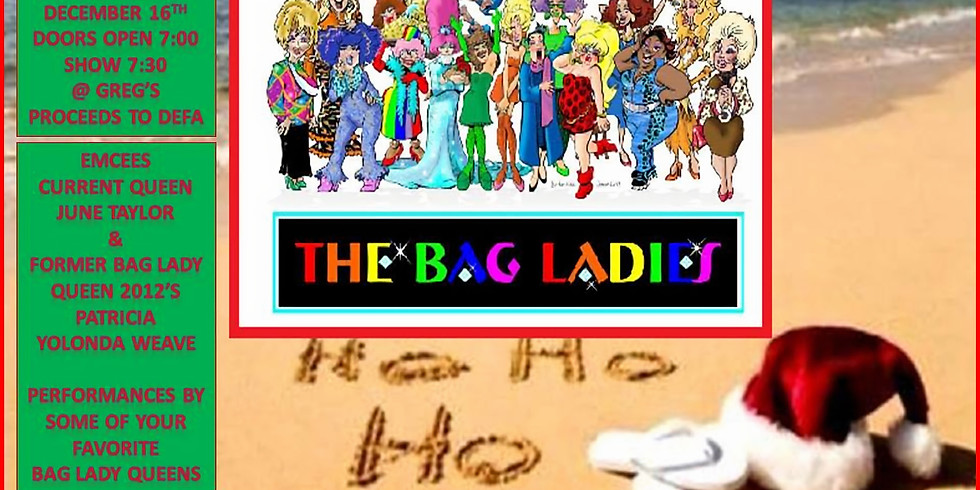 Bag Ladies present Stockings Were Hung, Turn Up The Heat
