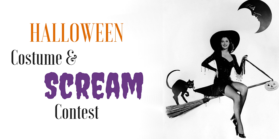 Halloween Costume & Scream Contest