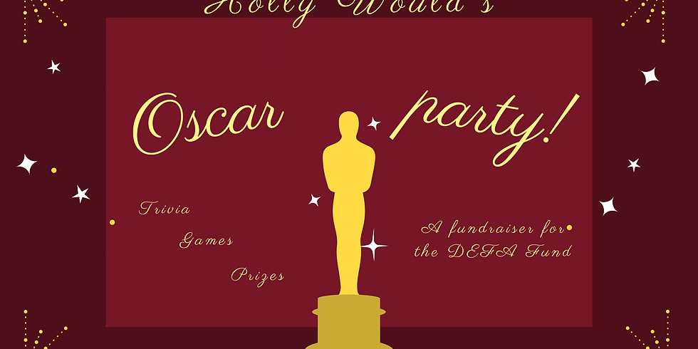 Holly Would's Oscar Party!